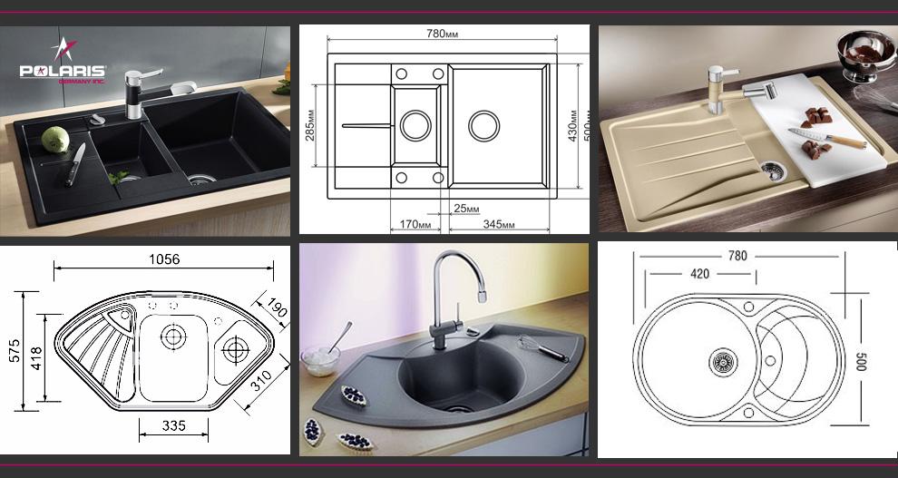 Как выбрать гранитную мойку для кухни? , Как выбрать гранитную мойку? , Как выбрать мойку?