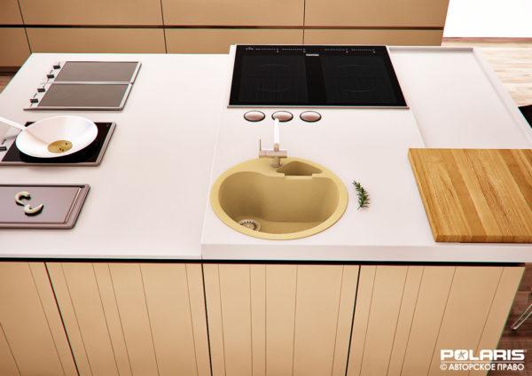Гранитная мойка для кухни