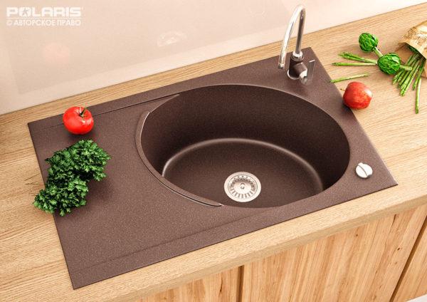 Мойка для кухни, из искусственного камня