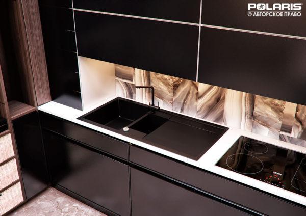Кухонная мойка из искусственного камня
